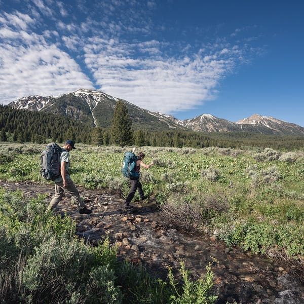 Creek crossing made easy with the Bridger Premium boots