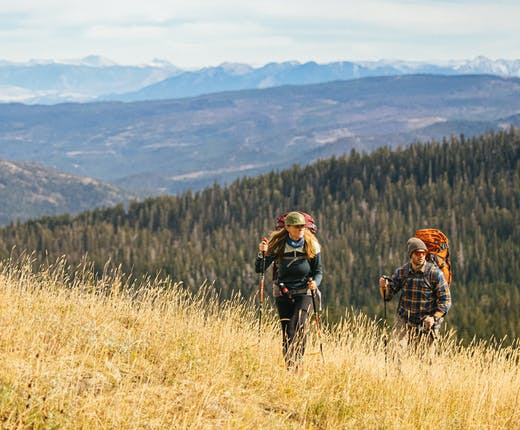 Backpacking on Montana