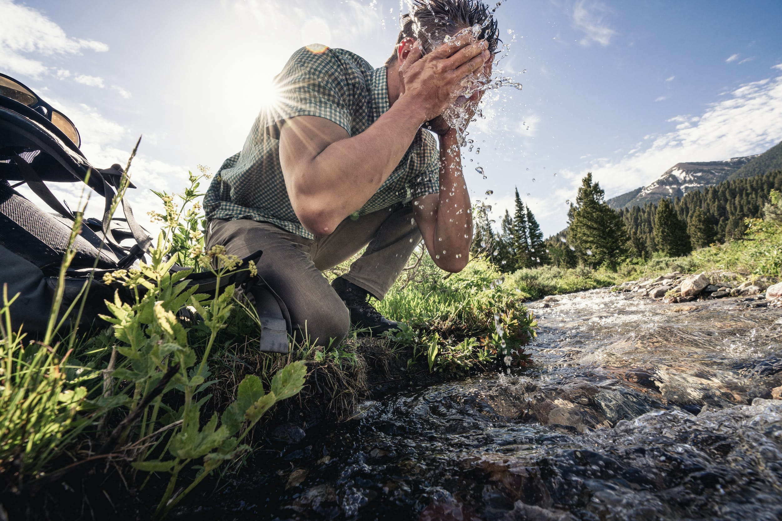 Things to be mindful of while out on the trails are the kinds of personal care products you pack in (and out), and how to properly use them.