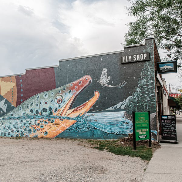 Mural in Bozeman, MT