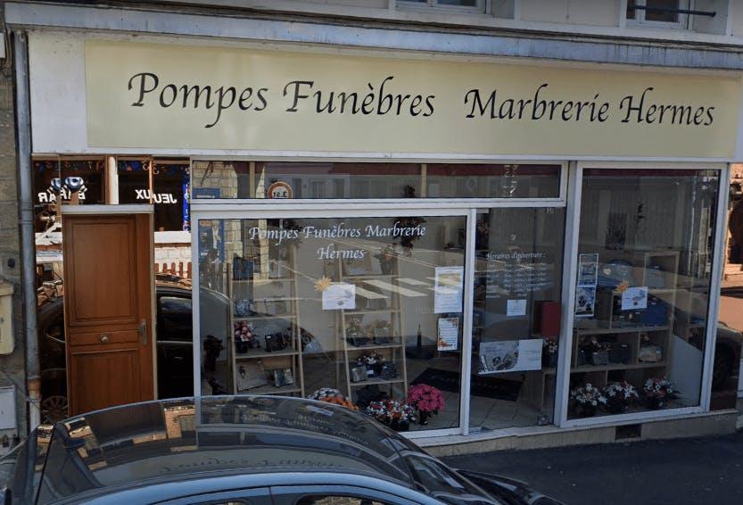 Photographie Pompes Funèbres Marbrerie HERMES des Andelys