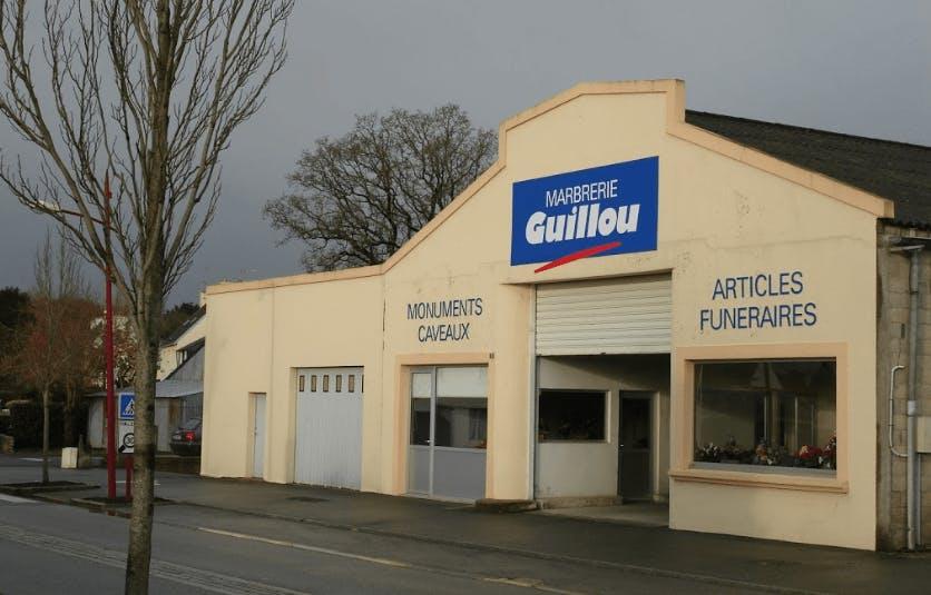 Photographie de la Marbrerie Guillou à Briec