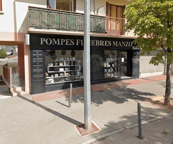 Photographie Pompes Funèbres Manzo B et L Draguignan
