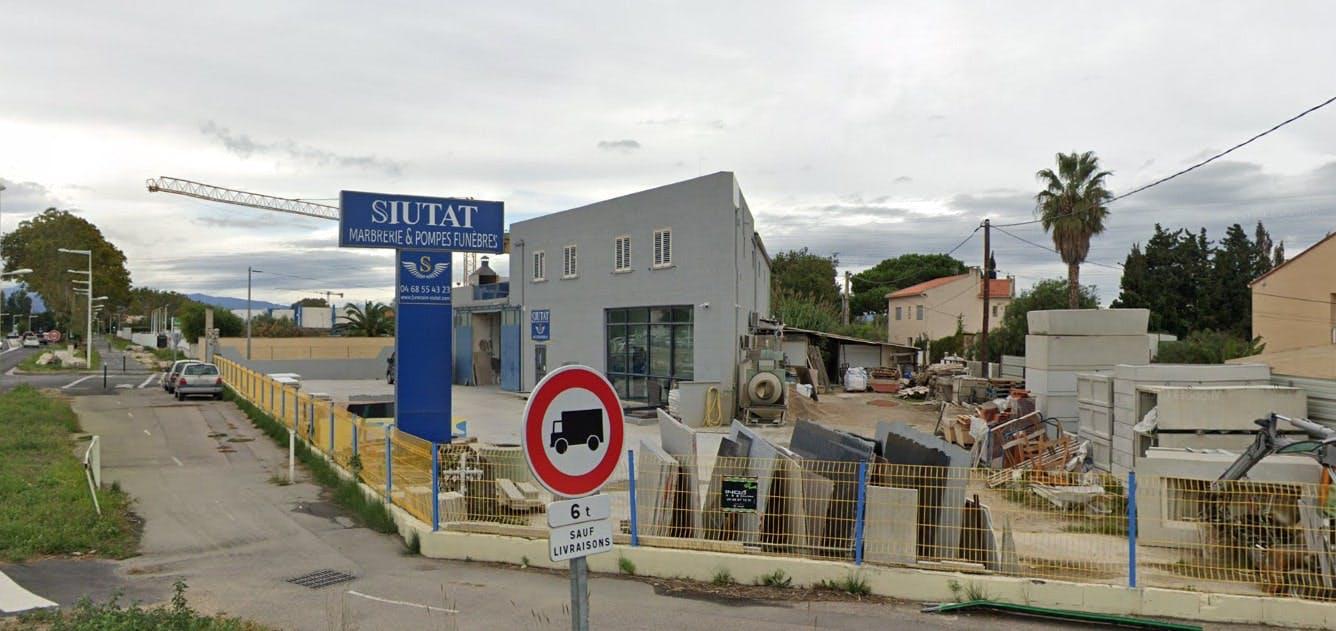 Photographie des Pompes Funèbres et Marbrerie Siutat à Perpignan