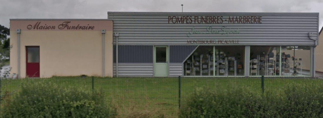Photographie de la Pompes Funèbres Lepresle à Picauville