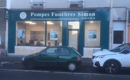 Photographie Pompes Funèbres Simon Villejuif