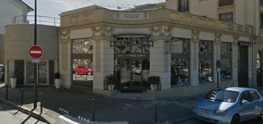 Photographie de la Pompes Funèbres et Marbrerie Sedran à Aix-les-Bains