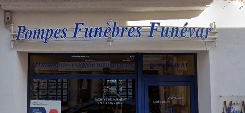 Photographie Pompes Funèbres Femenia  Londe-les-Maures
