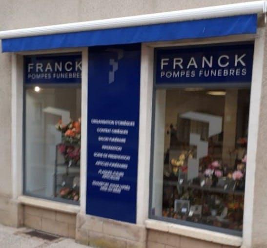 Photographie de Pompes funèbres Franck de Couches