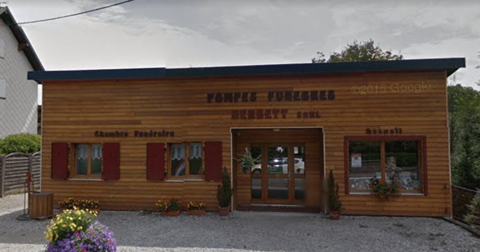 Photographie de la Pompes Funèbres Berbett à Dannemarie
