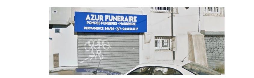 Photographie de la Pompes Funèbres 13 Azur Funéraire à Marseille