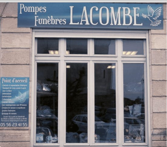 Photographie de la Pompes Funèbres Lacombe de la ville de Targon