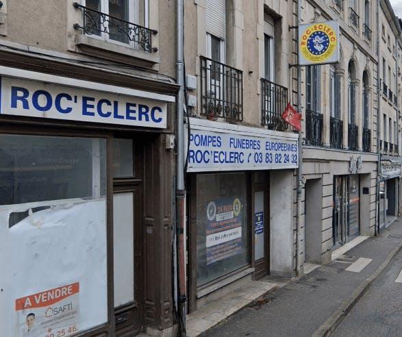 Photographie de la Pompes Funèbres ROC ECLERC à Pont-à-Mousson