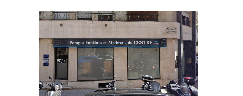 Photographie de la Pompe Funèbre et Marbrerie du Centre