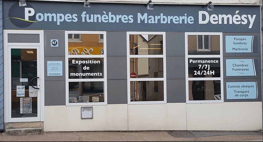 Photographie de Pompes funèbres Demesy de la ville de Fleury-sur-Andelle