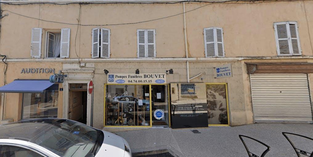 Photographie de Pompes Funèbres BOUVET de la ville de Trévoux