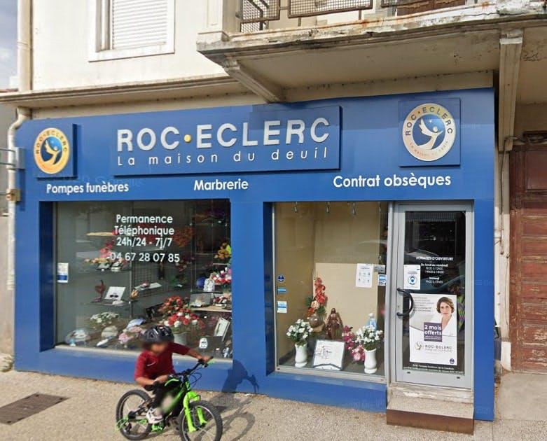 Photographies des Pompes Funèbres Roc'Eclerc à Frontignan