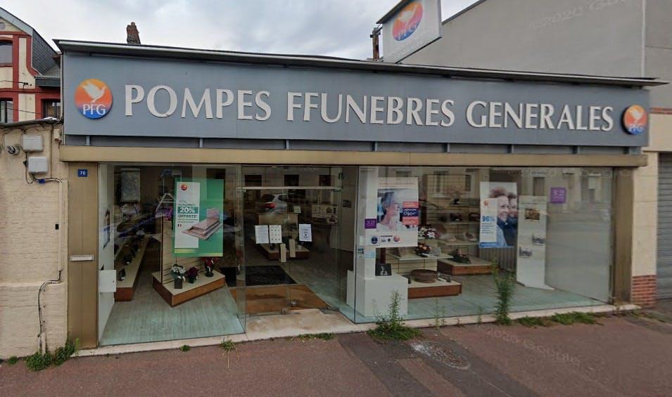 Photographies des Pompes Funèbres Générales au Petit-Quevilly