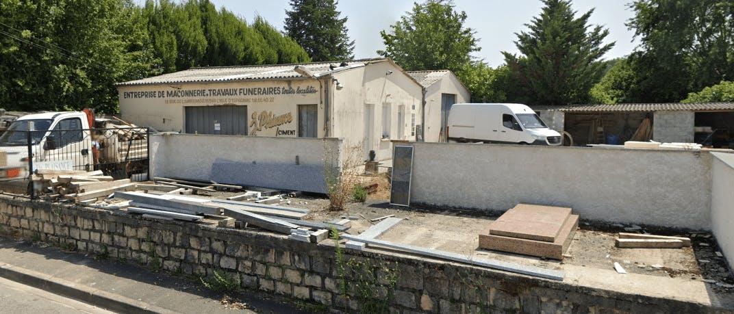 Photographie de la  Marbrerie Plaisance de L'Isle-d'Espagnac