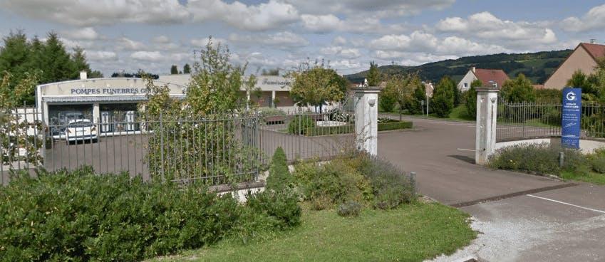 Photographie de la Pompes Funèbres GIRARD de la ville de Semur-en-Auxios