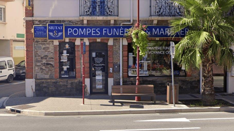 Photographie de la Pompes Funèbres et Marbrerie Siutat au Boulou