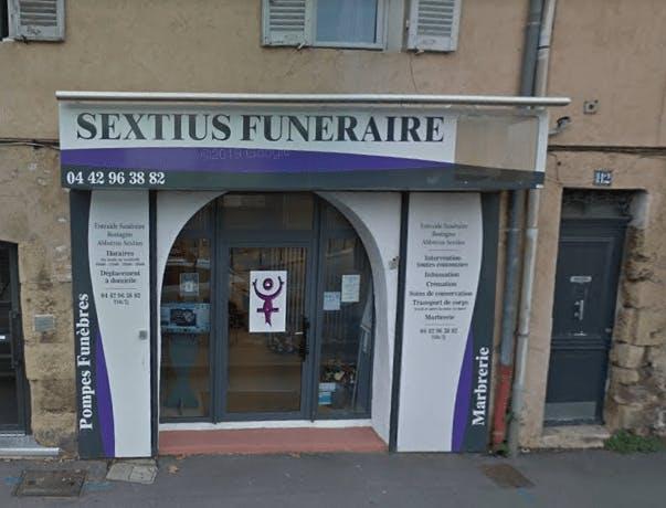 Photographie de l'Entraide Funéraire Sextius à Aix-en-Provence