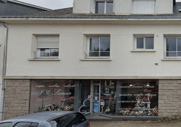 Photographie de la Pompes Funèbres -Marbrerie Lamour de la ville de Bubry