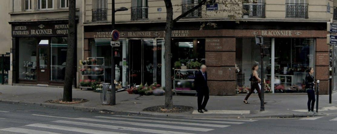 Photographie de la Pompes Funèbres Montparnasse-Braconnier à Paris