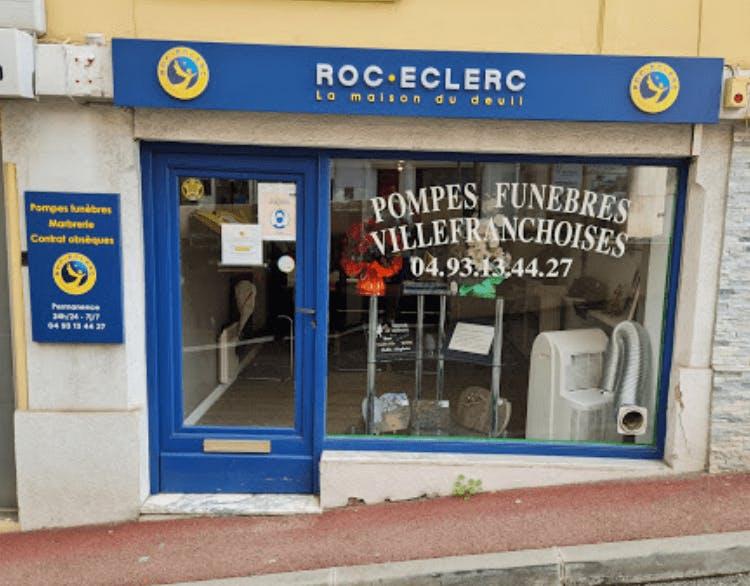 Photographie de la Pompes Funèbres Roc-Eclerc de la ville de Villefranche-sur-Mer