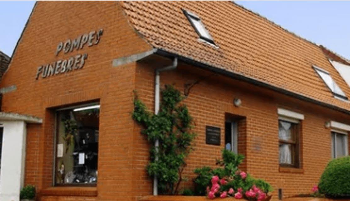 Photographie de la Pompes Funèbres Florent de la ville de Burbure