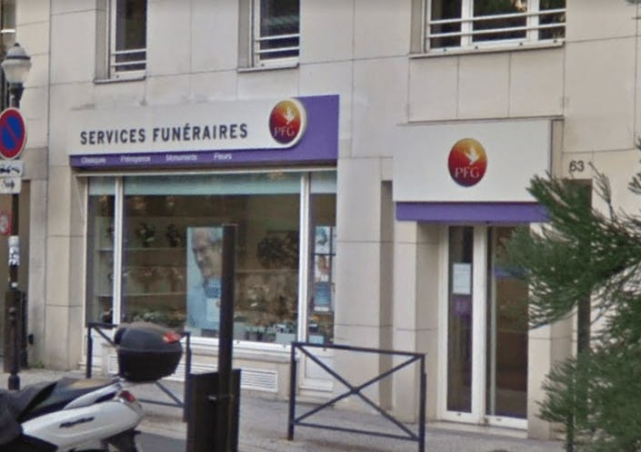 Photographie de la Pompes Funèbres Générales à Boulogne-Billancourt