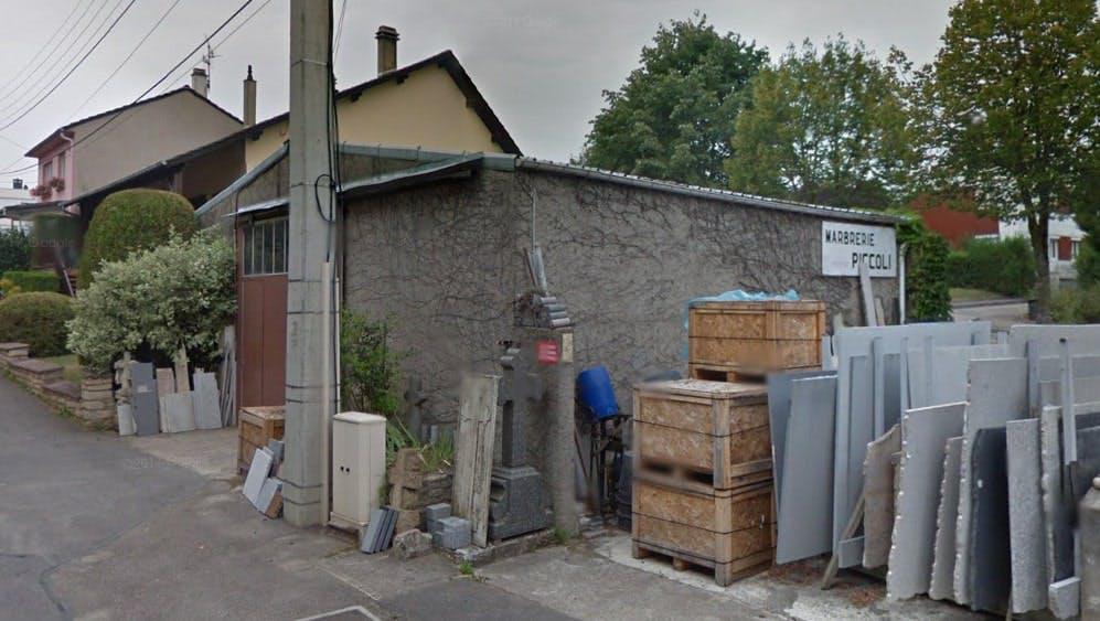 Photographies de la Marbrerie Piccoli à Fontoy