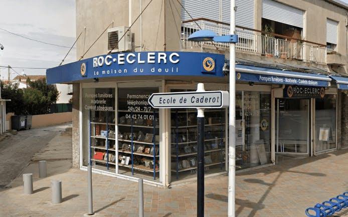 Photographie de la Pompes Funèbres ROC ECLERC à Berre-l'Étang