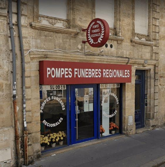 Photographie de la Pompes Funèbres Régionales à Le Bordeaux