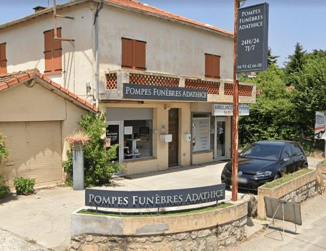 Photographie de la Pompes Funèbres Adathice Funéraire à Grasse