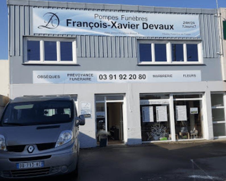 Photographie de la Pompes Funèbres Francois Xavier DEVAUX de la ville de Saint-Martin-au-Laërt