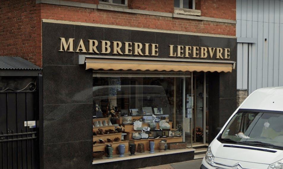 Photographie de la Marbrerie Lefebvre de Vitry-en-Artois