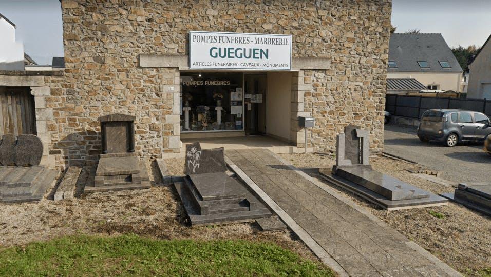 Photographie de la Pompes Funèbres et Marbrerie Gueguen à Broons