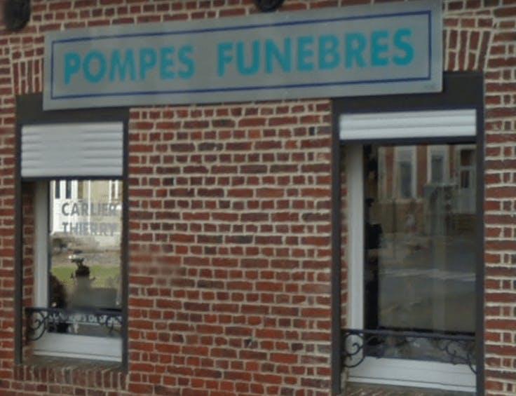 Photographie de la Pompes Funèbres Carlier Thierry de la ville de Sains-Richaumont