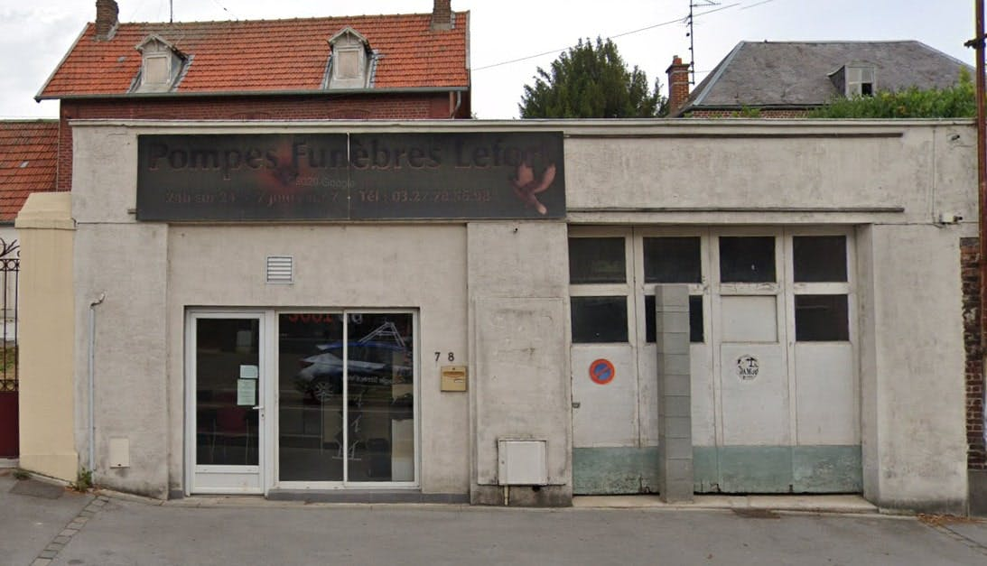 Photographies des Pompes Funèbres Lefort à Cambrai