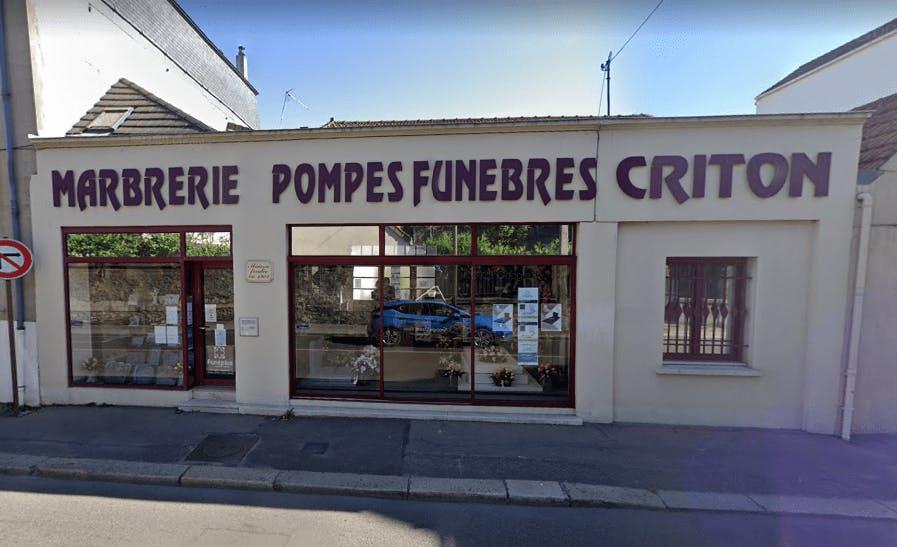 Photographie Pompes Funèbres Criton Marbrerie de Mantes-la-Jolie