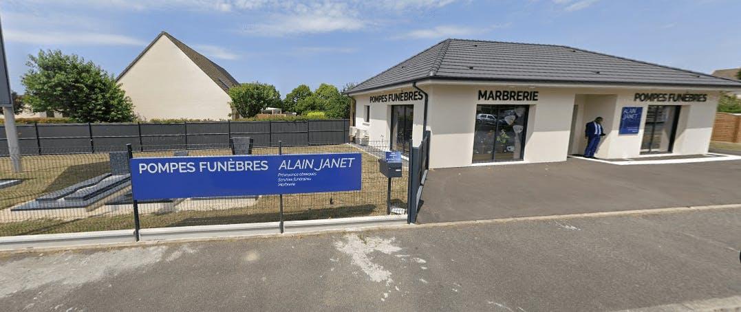 Photographie de la Pompes Funèbres Alain Janet à Bourges
