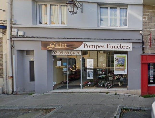 Photographies des Pompes Funèbres et Marbrerie Gallet à Cancale