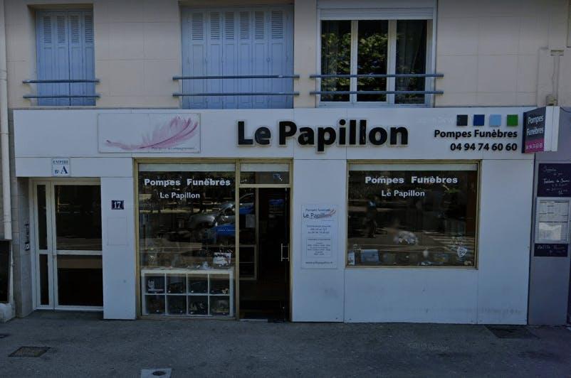Photographie Pompes Funèbres Le Papillon de Sanary-sur-Mer