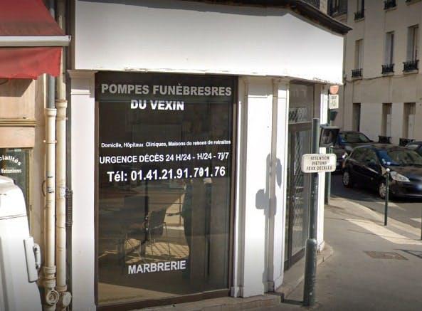 Photographie des Pompes Funebres du Vexin à Asinères-sur-Vexin