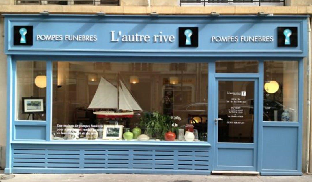 Photographies des Pompes Funèbres L'Autre Rive à Paris