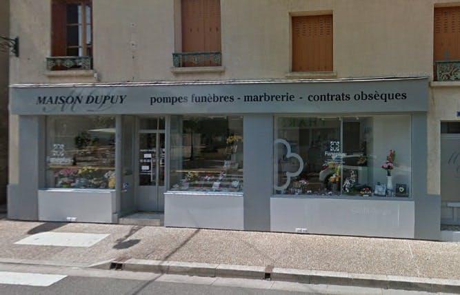 Photographies des Pompes Funèbres Maison Dupuy à Bessé-sur-Braye