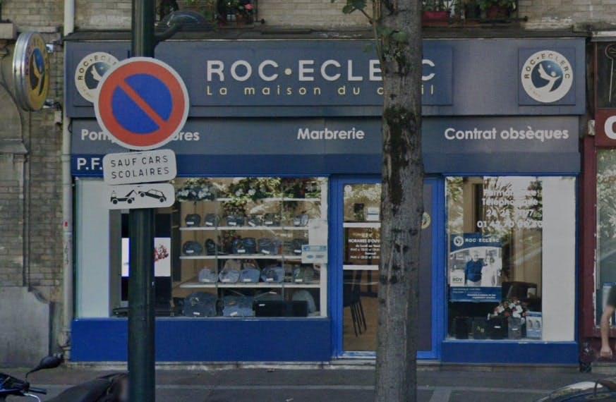 Photographies des Pompes Funèbres Roc'Eclerc à Clichy