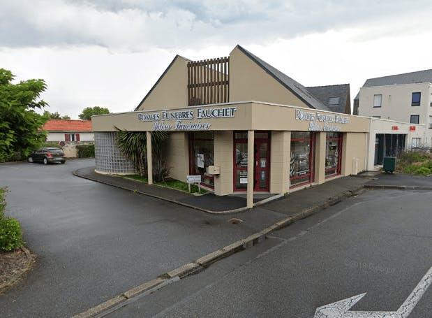 Photographie de la Pompes Funèbres Fauchet à Guérande