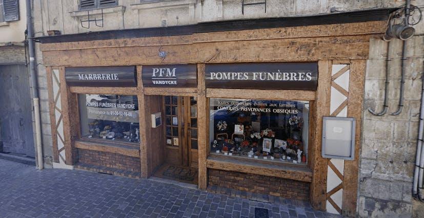 Photographie Pompes Funèbres et marbrerie Vandycke de Chevreuse
